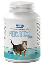 MIKITA - FELVITAL z tranem dla kota, 100 tabletek