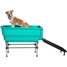 Groom Star - wanna do kąpieli zwierząt, zielona