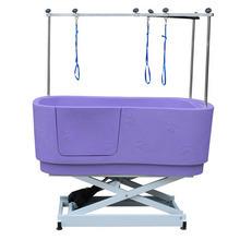 GroomStar - wanna z podnośnikiem elektrycznym, kolor fioletowy