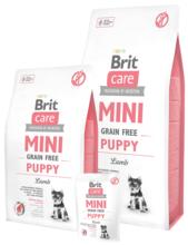 BRIT CARE Mini Grain Free Puppy - karma dla szczeniąt ras miniaturowych