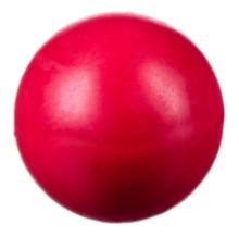 BARRY KING Piłka pełna kauczukowa, kolor czerwony 7,5cm