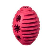 BARRY KING Rugby - zabawka z wytrzymałego kauczuku, kolor czerwony