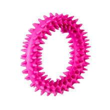 BARRY KING Mały Ring - kauczukowa zabawka dla szczeniąt, kolor różowy