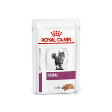 ROYAL CANIN Veterinary Diet Feline Renal - saszetka dla kota z tuńczykiem, niewydolność nerek, 85g