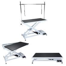 Shernbao - stół z podnośnikiem elektrycznym, model 808, blat 125 cm x 65 cm