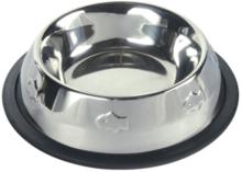 TRIXIE Ciężka miska dla kota ze stali nierdzewnej 0,2l