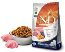 FARMINA N&D Pumpkin Lamb & Blueberry Puppy Medium & Maxi karma dla szczeniąt średnich i dużych ras 2,5kg i 12kg