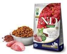 FARMINA N&D Quinoa Digestion Lamb jagnięcina, fenkuł włosi i mięta - karma dla psów 800g i 2,5kg