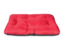 AMI BASIC poduszka prostokątna w kolorze czerwonym