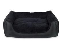 AMIPLAY ASPEN Sofa legowisko w kolorze czarnym