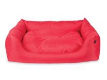 AMI BASIC Sofa legowisko w kolorze czerwone