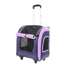 IBIYAYA Liso Backpack transporter na kółkach z funkcją plecaka, kolor granatowy