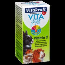 VITAKRAFT - VITA FIT - Witamina C - krople dla gryzoni, 10ml