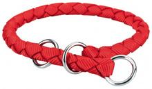 TRIXIE Obroża pół zaciskowa Cavo dla psa w kolorze czerwonym