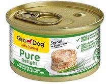 GIMDOG Little Darling Pure Delight - karma z kurczakiem i jagnięciną dla psa 85g