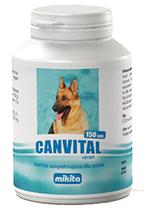 Mikita Canvital z tranem - kompozycja naturalnych protein, witamin i minerałów, 150 tabletek