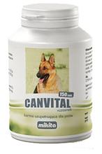 Mikita CANVITAL + czosnek - preparat multiwitaminowy z dodatkiem oleju czosnkowego, 150 tabletek
