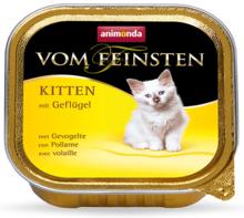 ANIMONDA Vom Feinsten Kitten Kurczak - Pełnowartościowa karma dla kociąt, 100g