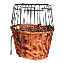 TRIXIE - koszyk wiklinowy zamykany do przewozu psów i kotów, do 8kg wagi