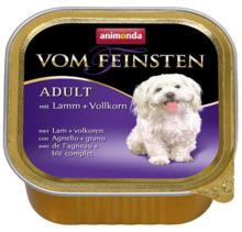 ANIMONDA Vom Feinsten Menue Jagnięcina + ziarna - karma dla dorosłego psa, szalka 150g