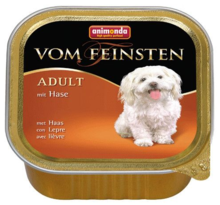 ANIMONDA Vom Feinsten Adult Królik - karma dla dorosłego psa, szalka 150g