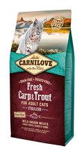 CARNILOVE FRESH Carp & Trout Sterilised karma dla kota 400g, 2kg i 6kg