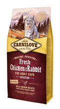 CARNILOVE FRESH Chicken & Rabbit karma dla kota 400g, 2kg i 6kg