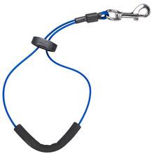 Groom Professional - linka stalowa w oplocie, długość 53 cm, niebieska
