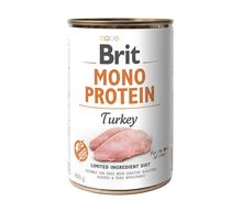 BRIT Monoprotein Turkey mokra karma dla psa 400g