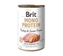 BRIT Monoprotein Turkey & Sweet Potato mokra karma dla psa 400g