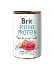 BRIT Monoprotein Tuna & Sweet Potato mokra karma dla psa 400g