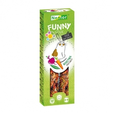 NESTOR Funny kolby dla gryzoni i królików Warzywna 2szt