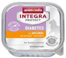 ANIMONDA Integra Protect Diabetes, Drób - karma dla kotów z cukrzycą 100g