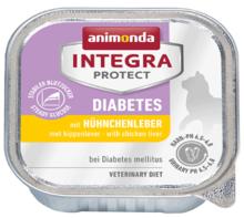 ANIMONDA Integra Protect Diabetes, Wątróbka drobiowa - karma dla kotów z cukrzycą 100g