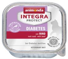 ANIMONDA Integra Protect Diabetes, Wołowina - karma dla kotów z cukrzycą 100g