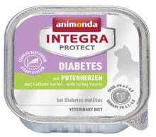 ANIMONDA Integra Protect Diabetes, Serca indyka- karma dla kotów z cukrzycą 100g