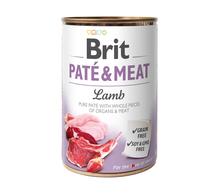 BRIT Pate&Meat Lamb mokra karma z jagnięciną dla psa, puszka