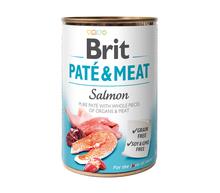 BRIT Pate&Meat Salmon mokra karma z łososiem dla psa, puszka