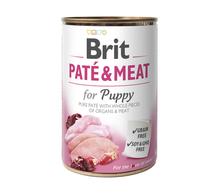 BRIT Pate&Meat Puppy mokra karma dla szczeniąt i młodych psów, puszka