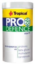 TROPICAL Pro Defence Granules rozmiar M pokarm dla ryb, 100ml i 250ml