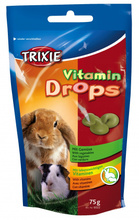 TRIXIE Dropsy dla gryzoni warzywne 75g