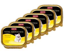 ANIMONDA Vom Feinsten Kitten Kurczak PAKIET 16 szt. - Pełnowartościowa karma dla kociąt, 100g