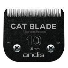 """ANDIS - nóż stalowy Black Cat dla kotów """"snap-on"""" 10 - 1,5mm"""