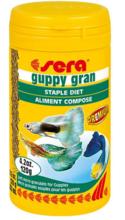 SERA Guppy Gran - miękki mikrogranulat dla gupików, 10g