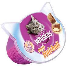 WHISKAS Anti Hairball- odkłaczacz, smakołyki dla kota