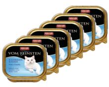 ANIMONDA Vom Feinsten Castrated Cats Indyk + pstrąg PAKIET 16 szt. - mokra karma dla kotów po kastracji, szalka 100g