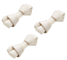 HAU&MIAU Kość wiązana 11 cm, 3 szt - naturalny gryzak dla psa