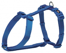 TRIXIE Premium - szelki dla psa, kolor królewski niebieski
