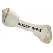 PROZOO Doggy Kość wiązana biała 7,5cm, 50 szt. - naturalny gryzak dla psa