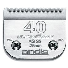 "Andis - nóż UltraEdge ze stali nierdzewnej ""snap-on"" 40 - 0,25 mm"